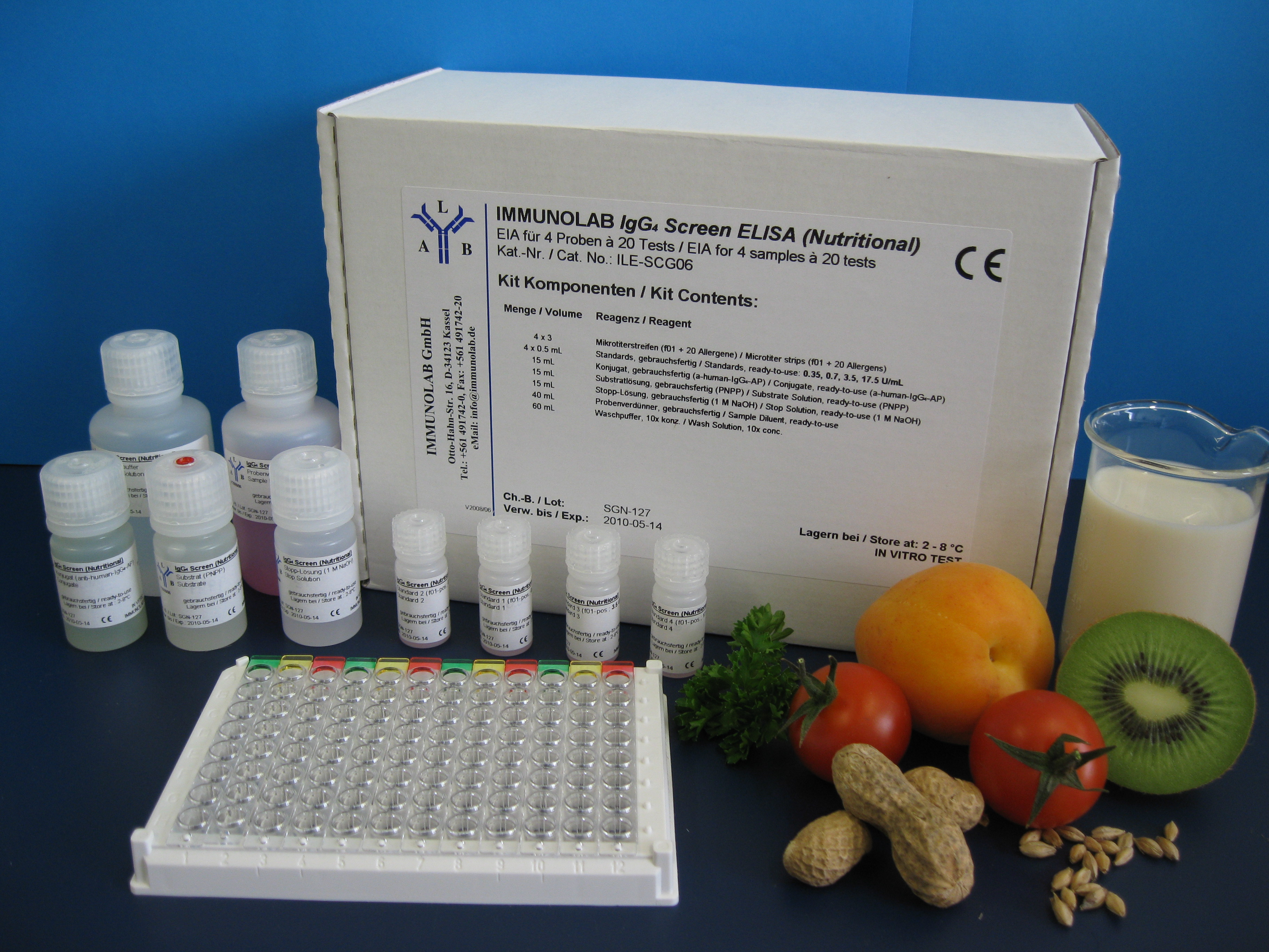 immunoLINE IgG4 Nutritional MX1